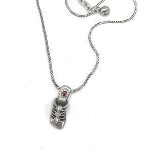 Brighton Red Sandal Necklace # 101
